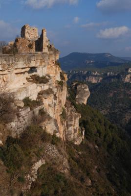 Castell de Siurana, Cornudella de Montsant (Priorat 2007). Autor: Jordi Contijoch Boada. Dipòsit Digital del Departament de Cultura (Generalitat de Catalunya)