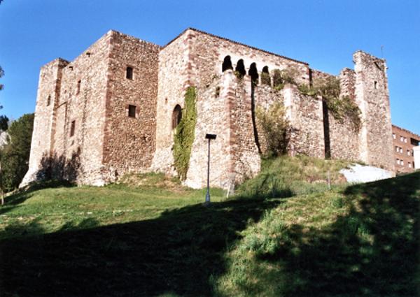 Vista general del Castell, Terrassa (Vallés Occidental) 1997. Autor: Jordi Contijoch Boada. Generalitat de Catalunya, Departament de Cultra.