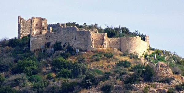 Restes del castell de Bairén, Gandia (La Safor)20??. Autor: Josep Lluis Rufat Lopez