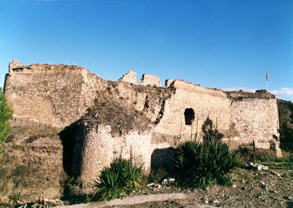 Restes del Castell de Móra d'Ebre ( Ribera d'Ebre) 1990. Autor: Jordi Contijoch Boada. Generalitat de Catalunya, Departament de Cultura.