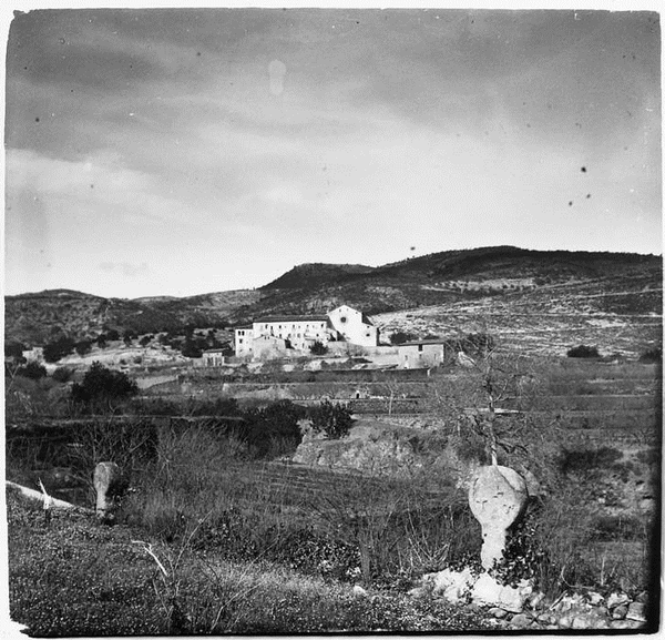 Imatge del Convent de Santa Anna, Alcover (Alt Camp) 1915. Autor: Josep Salvany i Blanch, Josep. Biblioteca de Catalunya.