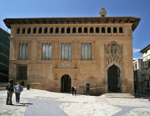 Hospital de Xàtiva (Costera ) que va patir fortament la crema de la ciutat ordenada per Felip V el 1707 . 2007.  Imatge: Arxiu Municipal de Xàtiva. Fons Gràfic.
