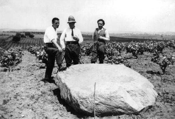 Imatge de la Pedra Salvadora. Fons de l'Arxiu Històric Municipal de Mollet del Vallès